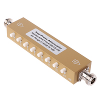 Aletler'ten Sinyal Jeneratörleri'de Yeni ayarlanabilir değişken zayıflatıcı N 5W 0 90dBi DC 2.5GHZ 50ohm RF koaksiyel 8 key