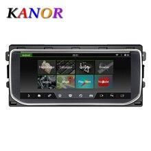 KANOR android 7,1 reproductor de audio radio tierra Range Rover Vogue L405 2012-2016 bluetooth WIFI gps navigation2GB + 32GB