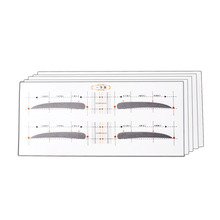 цена на Different Styles Eyebrow Shaping Stencils Eyebrow Grooming Stencil Kit Shaping Reusable Eyebrow Template Stencils