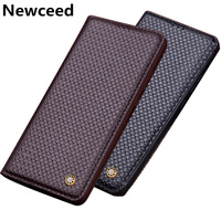 Genuine Leather Flip Cover Case For Samsung Galaxy S7 Edge/Samsung Galaxy S7 Magnetic Phone Case With Kickstand Phone Bag Coque