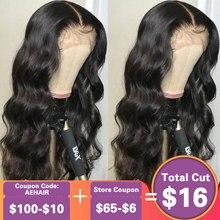 Body Wave 13x6 Lace Front Human Hair Wigs 250 Density 360 La