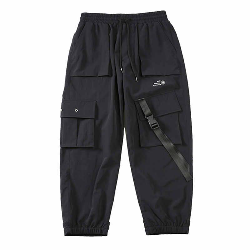 Hip Hop Trainingsbroek 2019 Koreaanse Stijl Joggers Fashions Techwear Broek Exo Heren Baggy Broek 5XL Streetwear Harembroek