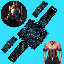 EMS Equipment Training Gear Muscles Electrostimulator Toner Gym Abdominal Muscle Stimulator Trainer Abs Fitness Exercise At Home(China)