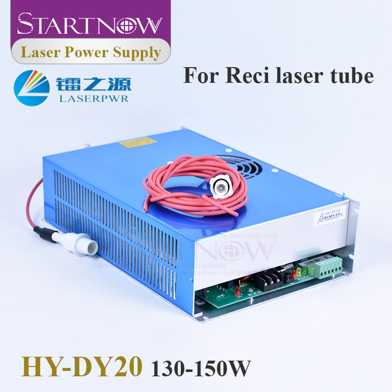 HY-DY20 Co2 Laser Device 110V 220V 130W 150W CO2 Laser Power Supply For Reci W6 S6 W8 S8 Tube Laser Engraving Cutting Machine