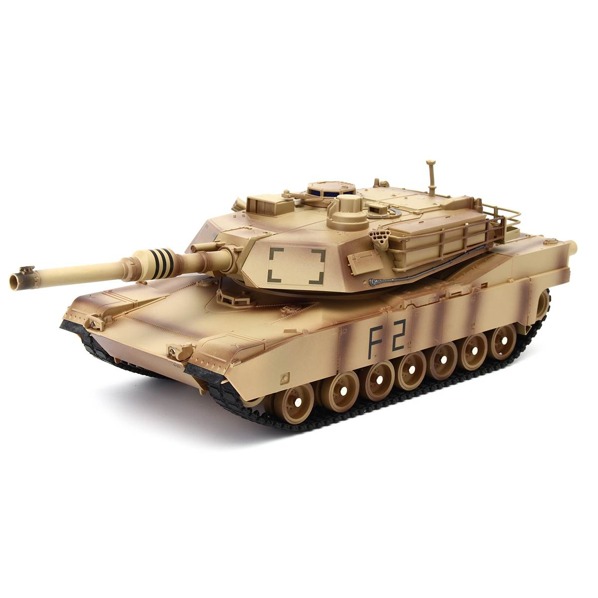1:24 Radio Remote Control RC Tank With Firing Sound Military Vehicle Model
