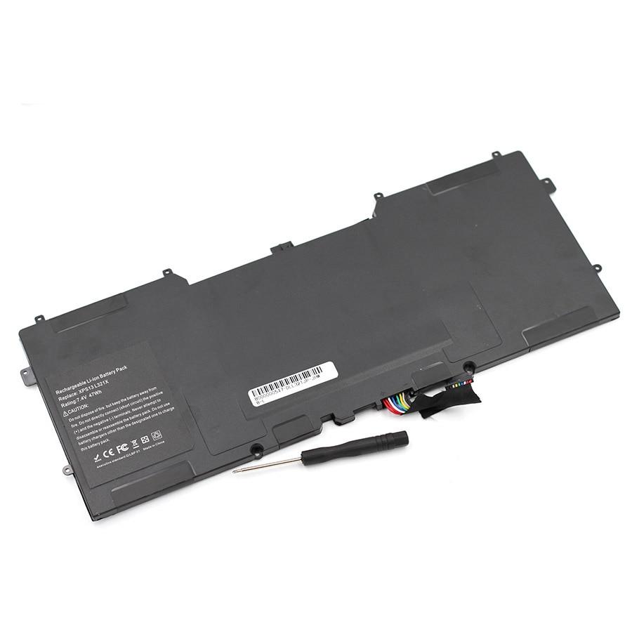 ApexWay 47Wh C4K9V Y9N00 0Y9N00 489XN PKH18 0PKH18 Battery For Dell  XPS 12-L221x 12-9Q23 13 13D 13R 13R2 L321X 13Z L322X