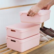 Organiseur plastique de diviseur de sous-vêtements à tiroir organiseur plastique de placard pour vêtements de maison, ceintures, cravates de Lingerie boîte de rangement de placard