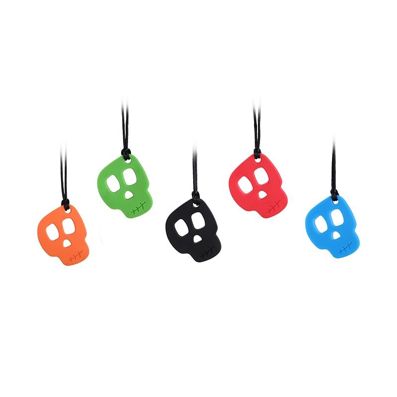 sensory necklace Jewellery Autism chewlery Silicone Pendant was teething