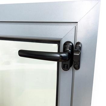 Drzwi i okna ze stopu aluminium blokada i klamka do okna okno przesuwne klamka do okna zabezpieczenia akcesoria sprzętowe tanie i dobre opinie CN (pochodzenie) PH455316 Prawa strona pociągnięcie U Kształt Blokady 5 12*2 76*1 97in 13*7*5cm black white 132g aluminium alloy