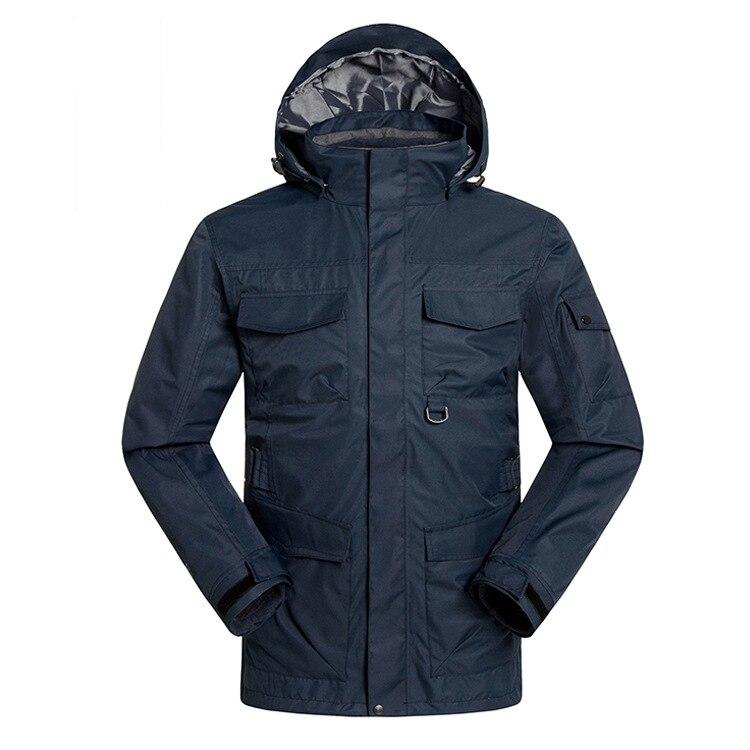 qualidade ao ar livre snowboard acampamento jaqueta quente caber russo-30 graus