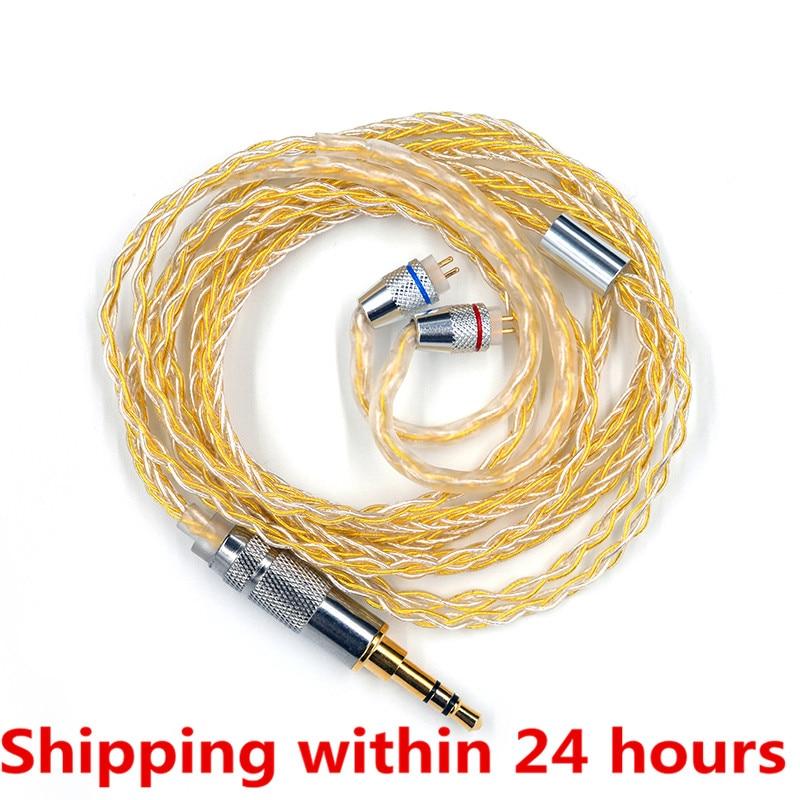 Аксессуары для кабеля для наушников ZS10 Pro ZSN AS10 AS06 ZST ES4 ZSN Pro BA10 ES4 ZSX C12