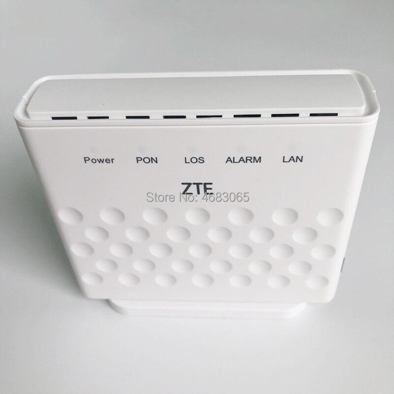 50Pcs/Lot Fiber Optic Onu Gpon Modem ZTE F601 1GE Port Gpon Ont Device, English Firmware, 100% New With Power Adapter