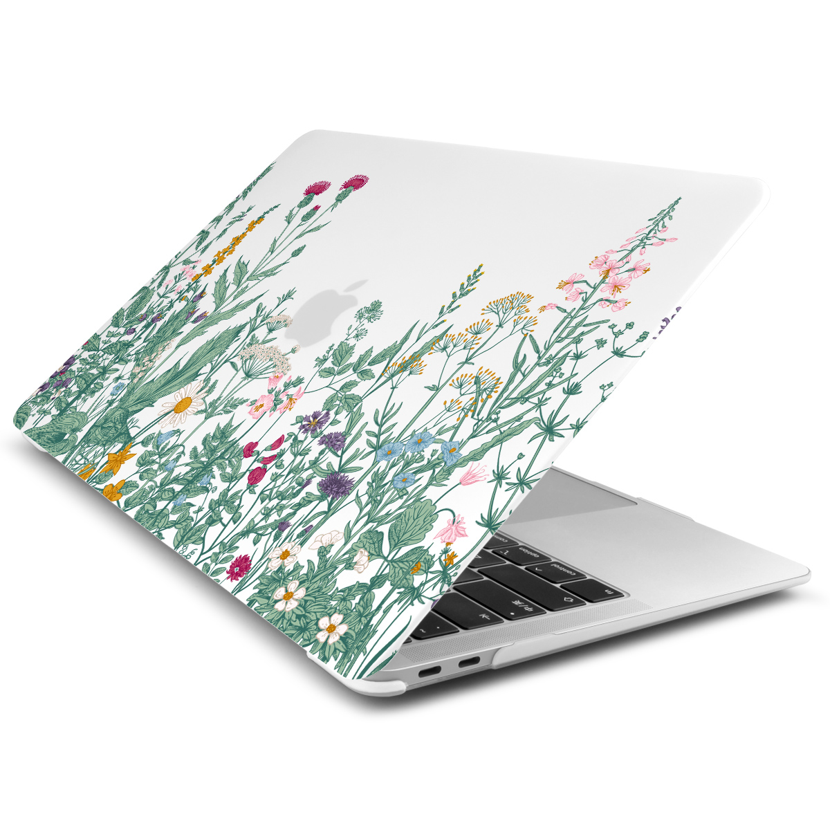 Marble Flower Pattern Case for MacBook 82