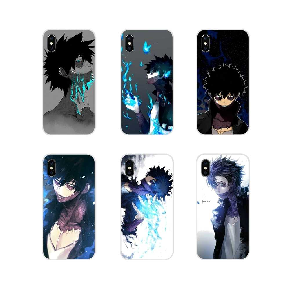 Accessoires Gevallen Covers Voor Apple Iphone X Xr Xs 11Pro Max 4S 5S 5C Se 6S 7 8 Plus Ipod Touch 5 6 Dabi Boku No My Hero Academia