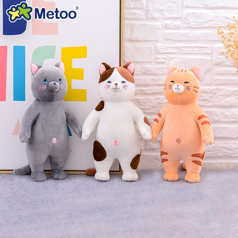 Metoo Sitting Position Cat Doll Creative Stuffed Toys Cartoon Pillow Kids Toys For Girls Children Boys Kawaii Baby Plush Toys