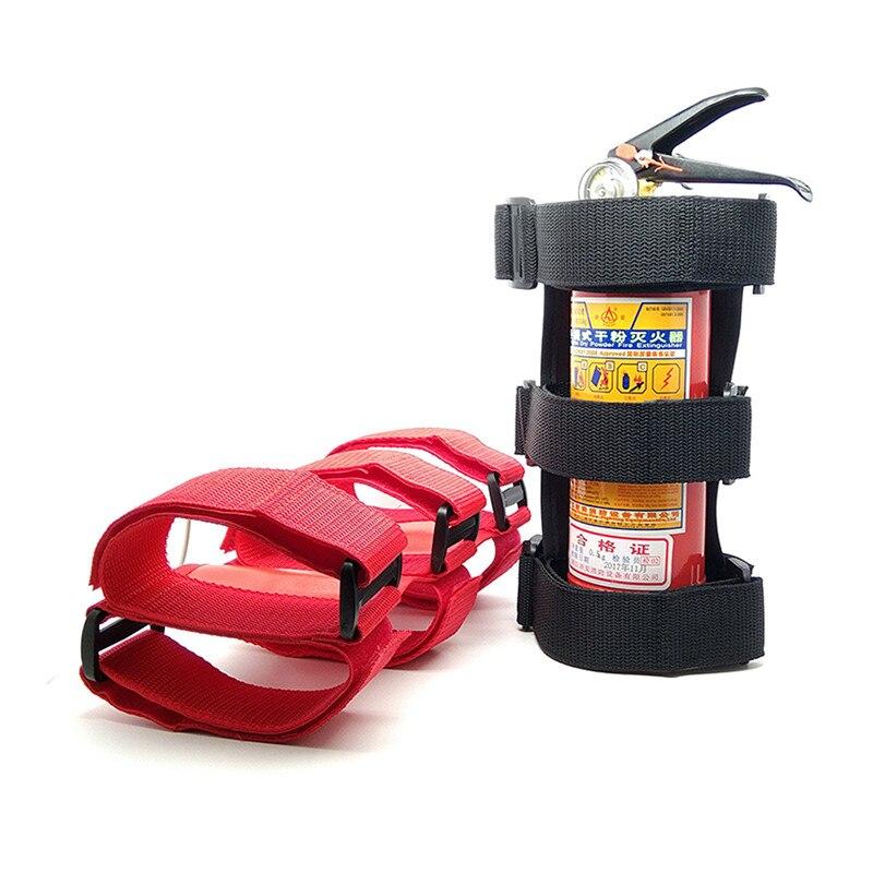 Car SUV Roll Bar Fire Extinguisher Holder Emergency Auto Safety Accessory Belt