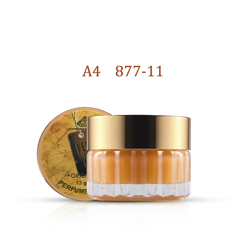 Natural Plants Solid Deodorant Solid Fragrance For Women Men Fragrant Cream Solid Balm