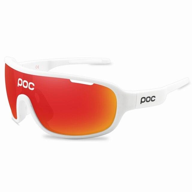 4 lente poc ciclismo óculos de sol ao ar livre óculos de ciclismo 6