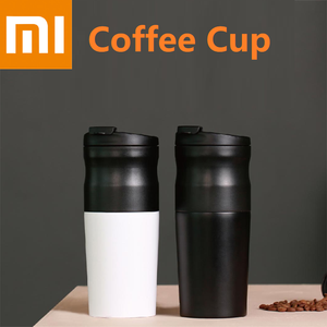 Image 1 - Xiaomi LAVIDA Electric Stainless Steel Coffee cup 427ML Grinder Double layer filter Mini Kitchen Grinder Coffee Bean Grind Cafe