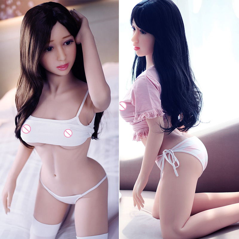 Women Real Pussy <font><b>140cm</b></font> Realistic <font><b>Sex</b></font> <font><b>Doll</b></font> <font><b>Big</b></font> <font><b>Breast</b></font> Lifelike Vagina Sexy Products For Adult Tpe Full Body Love <font><b>Doll</b></font> Best Price image