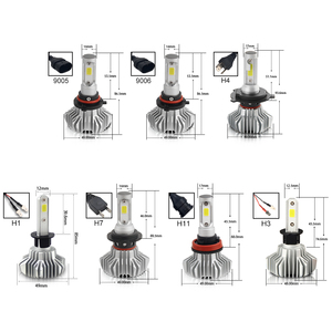 Image 5 - BraveWay หลอดไฟ LED AUTO LED ICE หลอดไฟ H4 H7 H11 LED ไฟหน้า 9005 9006 HB3 HB4 ไฟหน้า 12000LM 6500K 80W 12V รถ (LED)