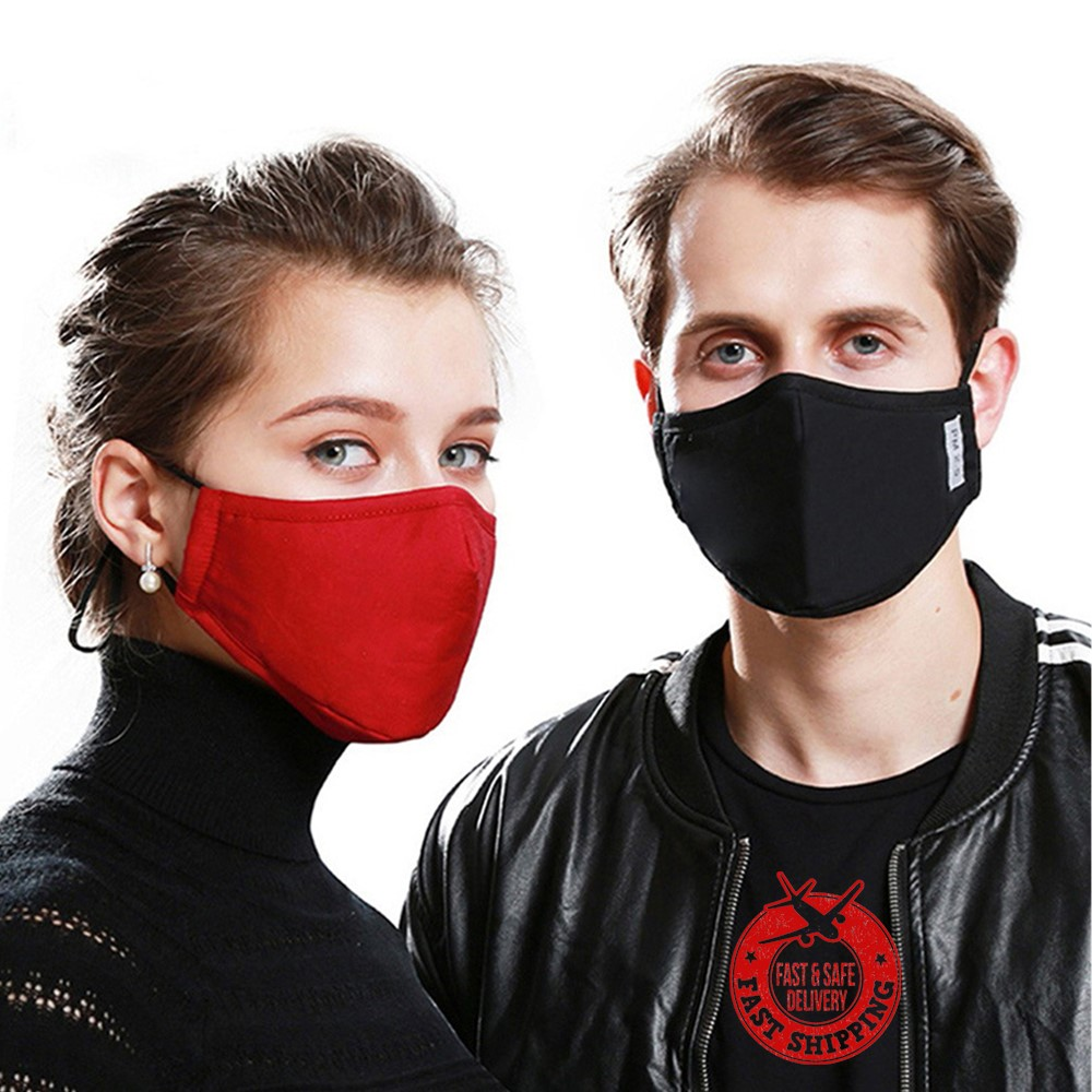 Air Purifying Face Mask Cover Anti Dust Multi Layer Mouth Muffle Filter CN