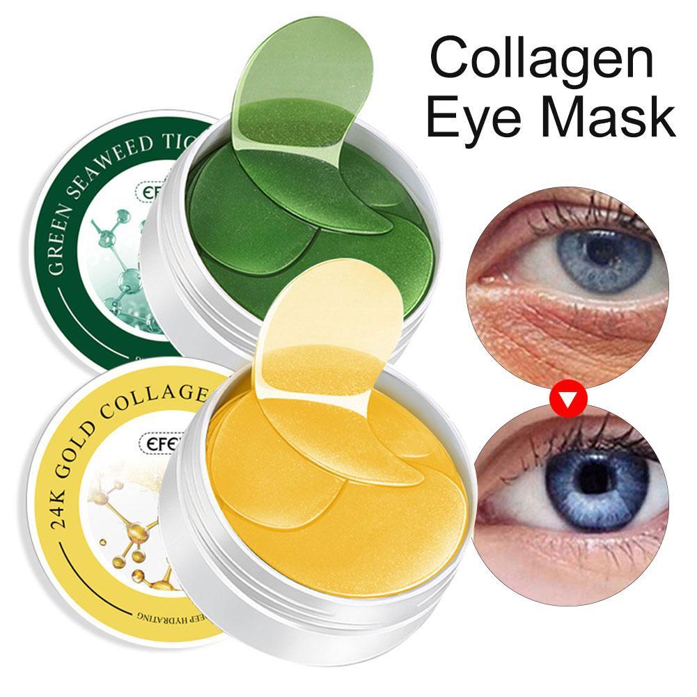 Eye-Mask Remove-Dark-Circles Puffiness Moisturizing Anti-Wrinkle Dark-Spots Gold Collagen