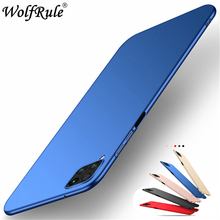 For Fundas Huawei P40 Lite Case Cover Smooth Skin Thin PC Matte Phone Case For Huawei P40 Lite Case Coque Funda Huawei Nova 6 SE for fundas huawei p40 lite case cover smooth skin thin pc matte phone case for huawei p40 lite case coque funda huawei nova 6 se