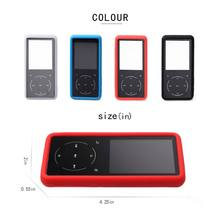1 Pc Silicone Protective Case Flexible Cover for SOULCKER D16 MP3 Player Accessories High Quality Hot Sale(China)