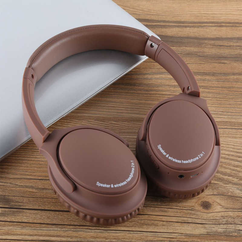 Ms K22 Bluetooth Headset 2 In 1 Speaker Wireless Headphone Support Tf Card With Microphone Super Bass Music Gaming Headphones Aliexpress