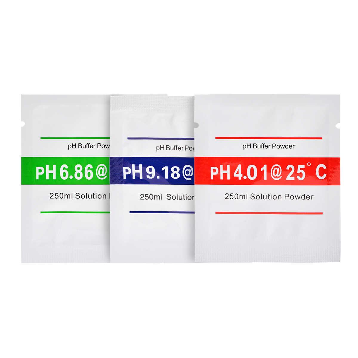 15 шт., точка калибровки PH 4,01 6,86 9,18 PH, буферный порошок, калибровочное решение для тестового измерителя