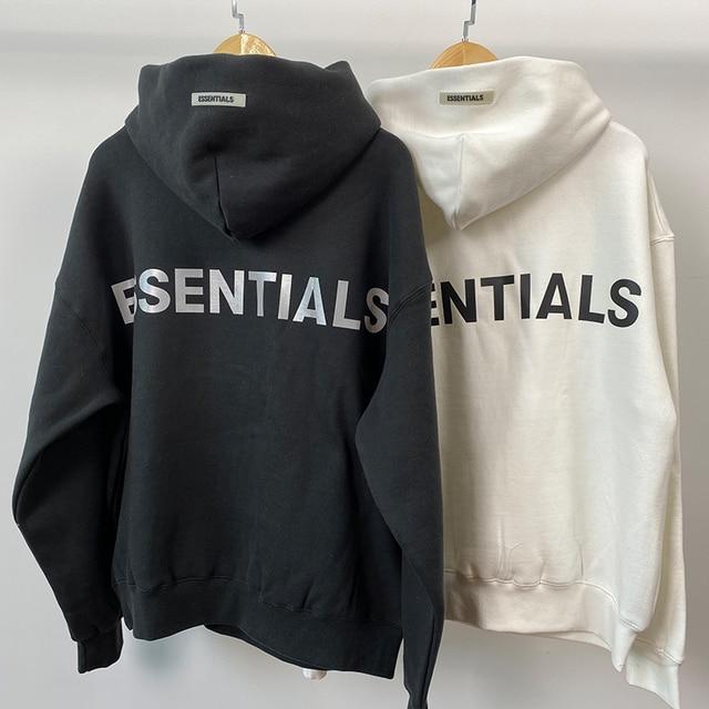 2019SS CARL's Classic Hoodies Reflective Print Sweatshirts loose ovesized Hoodies Hip Hop Cotton Top