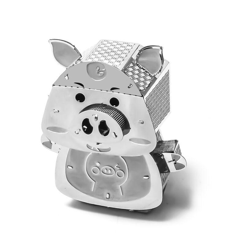 3D Metal Puzzle Model Kit DIY Stainless Steel Starship DOCTOR WHO TARDIS Animal Ship Adult Jigsaw DIY Jigsaw Manual Gift Toys 36