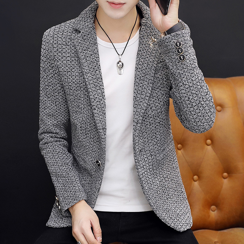 2020 Men Leisure   Young Cultivate One's Morality Leisure  Blazers