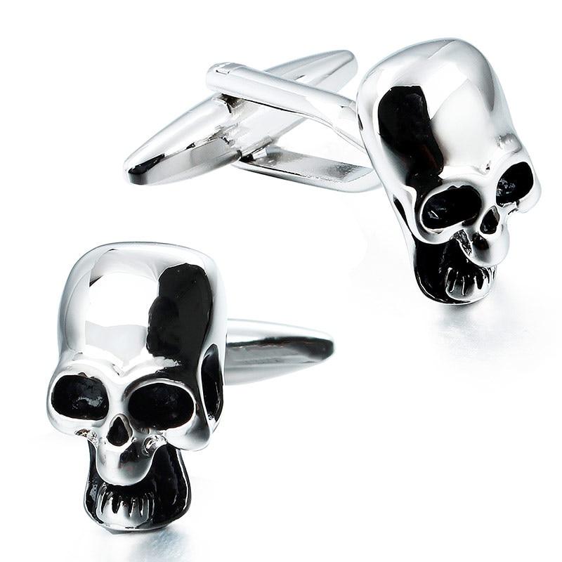 HAWSON Skull Cuff Links  for 2020 fashion men's shirt