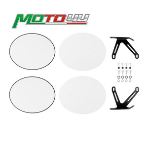 New Cafe Racer Motorcycle side number plate Blank stickers High quality 2PCS For Ducati Scrambler 800 2014 2015