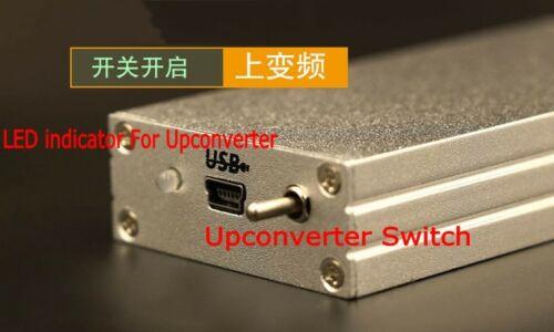 2019 100K-1.7GHz UV HF RTL.SDR Upconverter USB Tuner Receiver 2832U+R820T2 Radio