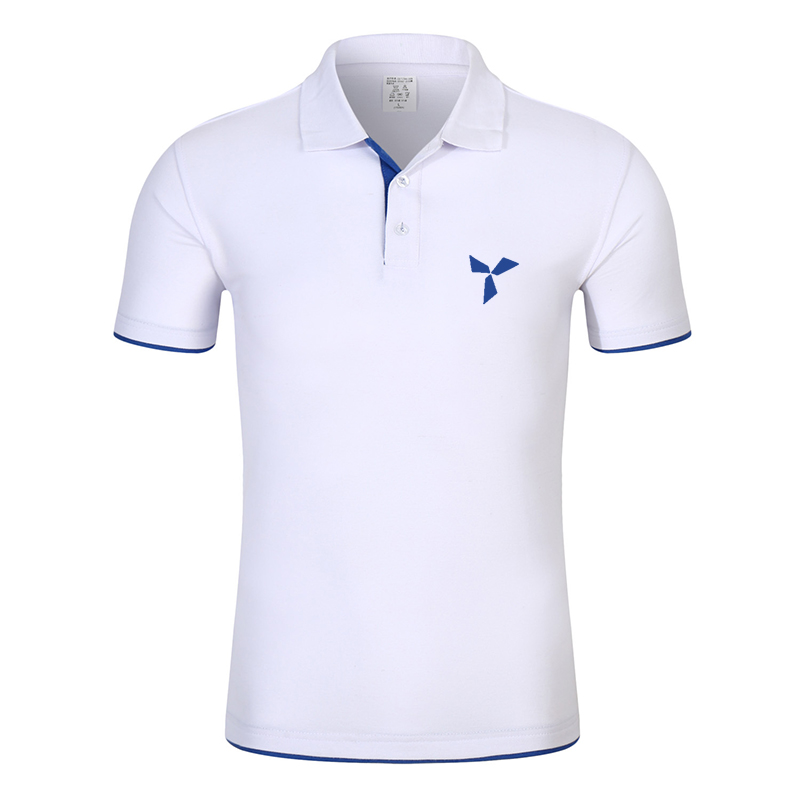 2020 NEW Clothes Men Knitted Polo Shirt Contrast Color Short Sleeve Turn-down Neck Top Breathable Plus Size Sport Men's Polo Tee 5