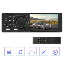 4.1 Inch Auto Hd Groot Scherm Bt Auto Mp5 Speler Auto Mp3 Mp4 Card Machine Auto Radio Host Omkeren Video speler(China)