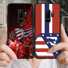Yinuoda Phone Case For Correa Galaxy S10 S9 Plus S6 S7 Edge Black Soft TPU DIY Case Atletico Madrid FC For Galaxy Note4 7 9(China)
