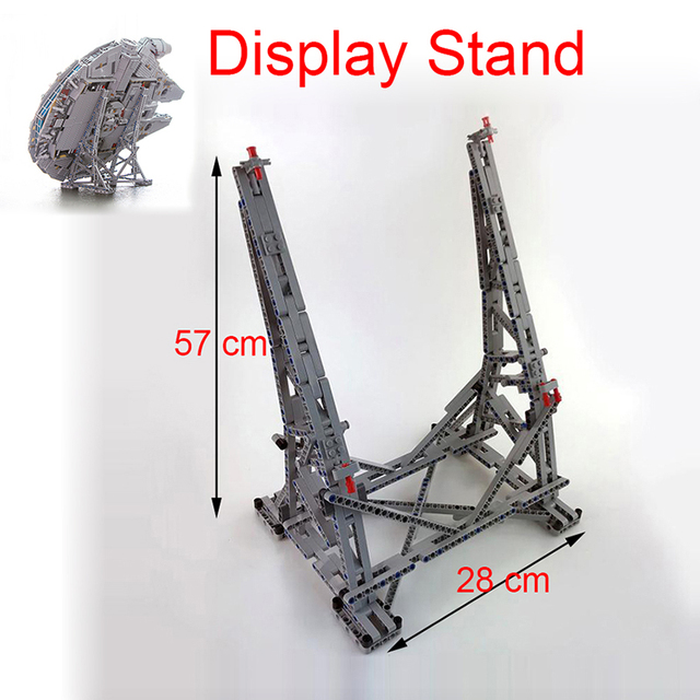 Star MOC Ultimate Millennium Collector Display Stand Wars Model Show Shelf Building Blocks Falcon Toys