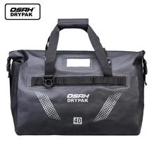 Motorcycle Travel Dry Bag Waterproof duffle OSAH DRYPAK 25L/40L/60L Motorbike Motocros Luggage Rear Seat Tail