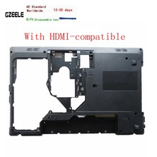 Novo portátil inferior base caso capa para lenovo g570 g575 g575gx g575ax base chassi d capa caso escudo com hdmi-compatível