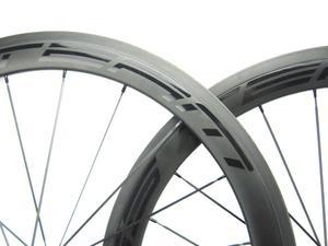Image 3 - מלא פחמן גלגלי 38/50 38mmclincher מסלול אופני גלגלים 700Cx23 3 K/UD מט Novatec רכזת 20/24 חורים אחת הילוך קבוע גלגל