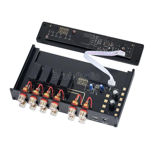 Douk Audio FX-AUDIO PW-6 Audio Switcher Spiltter Selector Crossover 2-Way Speaker Amplifier Comparator