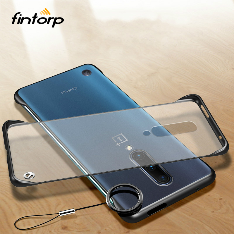 Frameless Case for OnePlus 7 Pro Case Coque Ultra thin Transparent Back Finger Ring Cover for One Plus 7 Pro 7 Protective Bumper