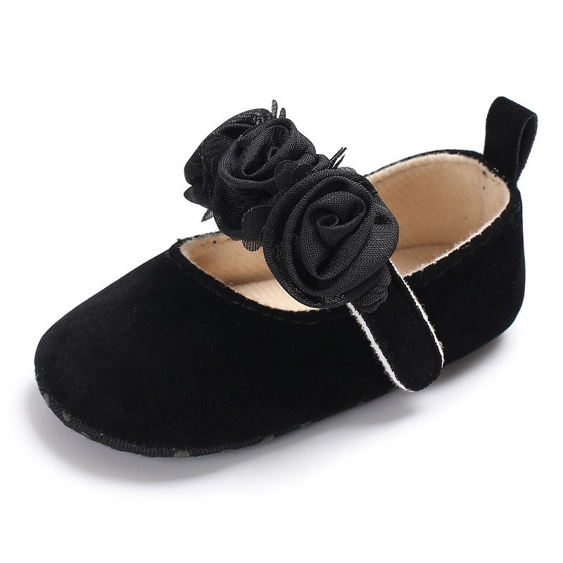 Baby Shoes Soft Sole Cotton First Walkers Fashion Baby Girl Shoes Butterfly-knot First Sole Kids Shoes