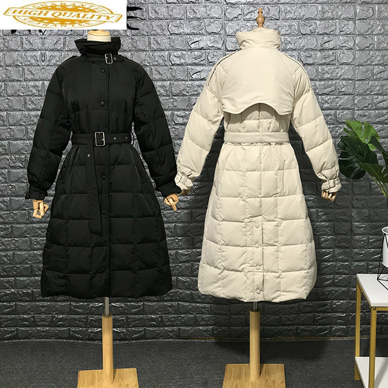90% White Duck Down Jacket Women Winter Coat Women Down Coat Korean Puffer Jacket Warm Parka Chaqueta Mujer YY1470