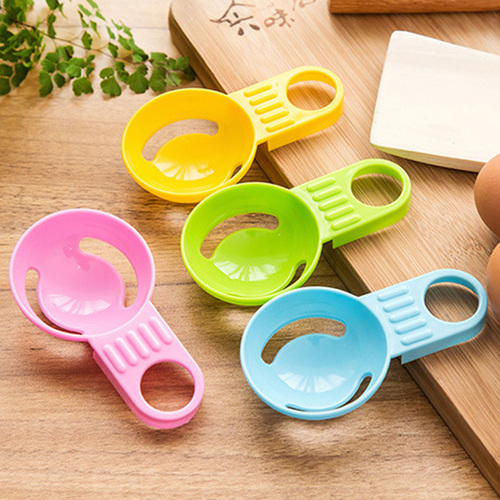 New Practical Kitchen Tool Egg Tools Candy Color Egg Dividers/Mini Plastic Egg White Separator