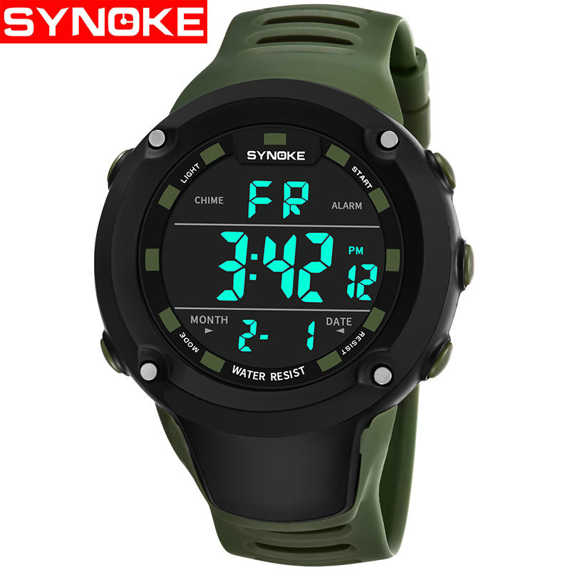 waterproof Mens Electronic Watch Fashion Men LED Digital watch Date Military Sport watches Quartz Watch Relogio Masculino 2020